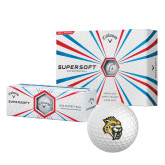 Callaway Supersoft Golf Balls 12/pkg-Sabercat Head