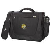 High Sierra Black Upload Business Compu Case-Sabercat Head