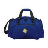 Challenger Team Navy Sport Bag-Sabercat Head