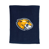Navy Rally Towel-Mascot Head