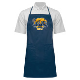 Full Length Navy Apron-Mom