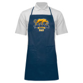 Full Length Navy Apron-Dad
