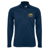 Syntrel Navy Interlock 1/4 Zip-Primary Mark