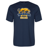 Performance Navy Tee-Soccer