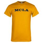 Gold T Shirt-MCLA