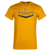 Gold T Shirt-Baseball Plate Design