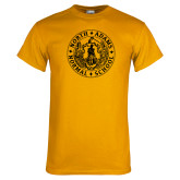 Gold T Shirt-Normal School Seal