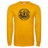 Gold Long Sleeve T Shirt-Normal School Seal