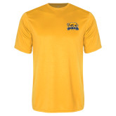 Performance Gold Tee-Primary Mark