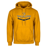 Gold Fleece Hoodie-Baseball Plate Design