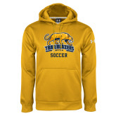 Under Armour Gold Performance Sweats Team Hoodie-Soccer