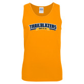 Gold Tank Top-Wordmark