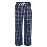 Navy/White Flannel Pajama Pant-Primary Mark