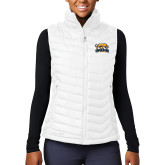 Columbia Lake 22 Ladies White Vest-Primary Mark