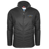 Columbia Mighty LITE Charcoal Jacket-Wordmark
