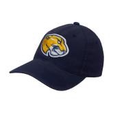 Navy OttoFlex Unstructured Low Profile Hat-Mascot Head