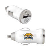 On the Go White Car Charger-Primary Mark