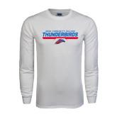 White Long Sleeve T Shirt-Mesa Community College Thunderbirds