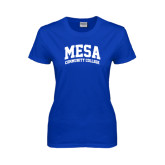 Ladies Royal T Shirt-Mesa Community College Arched