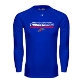 Under Armour Royal Long Sleeve Tech Tee-Mesa Community College Thunderbirds