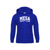 Youth Royal Fleece Hoodie-Mesa Community College Arched