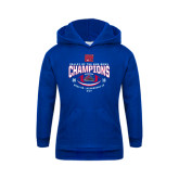 Youth Royal Fleece Hoodie-Valley of the Sun Bowl Champions Football 2016