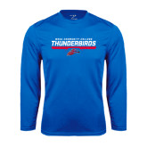 Syntrel Performance Royal Longsleeve Shirt-Mesa Community College Thunderbirds
