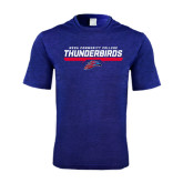Performance Royal Heather Contender Tee-Mesa Community College Thunderbirds