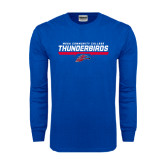 Royal Long Sleeve T Shirt-Mesa Community College Thunderbirds