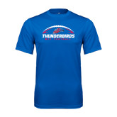 Performance Royal Tee-Thunderbirds MCC Football w/ Ball