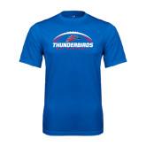 Syntrel Performance Royal Tee-Thunderbirds MCC Football w/ Ball