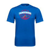 Performance Royal Tee-Thunderbirds MCC Basketball w/ Ball
