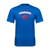 Syntrel Performance Royal Tee-Thunderbirds MCC Basketball w/ Ball