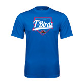 Performance Royal Tee-T-Birds Baseball w/ Plate
