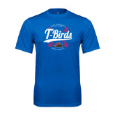 Performance Royal Tee-T-Birds Softball w/ Seams