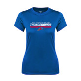 Ladies Syntrel Performance Royal Tee-Mesa Community College Thunderbirds