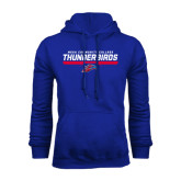 Royal Fleece Hoodie-Mesa Community College Thunderbirds