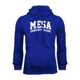 Royal Fleece Hoodie-Mesa Community College Arched
