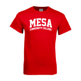 Red T Shirt-Mesa Community College Arched