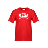 Youth Red T Shirt-Mesa Community College Arched