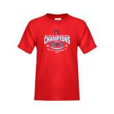 Youth Red T Shirt-Valley of the Sun Bowl Champions Football 2016