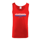 Red Tank Top-Mesa Community College Thunderbirds