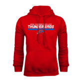 Red Fleece Hoodie-Mesa Community College Thunderbirds