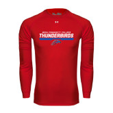 Under Armour Red Long Sleeve Tech Tee-Mesa Community College Thunderbirds