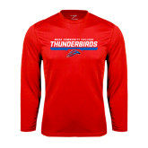 Performance Red Longsleeve Shirt-Mesa Community College Thunderbirds