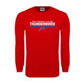 Red Long Sleeve T Shirt-Mesa Community College Thunderbirds