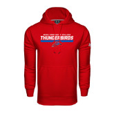 Under Armour Red Performance Sweats Team Hoodie-Mesa Community College Thunderbirds