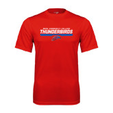 Performance Red Tee-Mesa Community College Thunderbirds