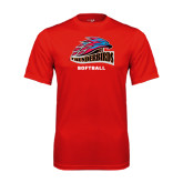 Performance Red Tee-Softball