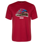 Performance Red Tee-Dad
